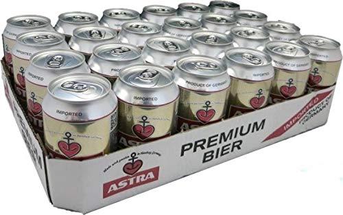 Astra Premium Pils 48 x 0,33 l Dosen Bier 4,9 % Beer Cerveza Hamburg
