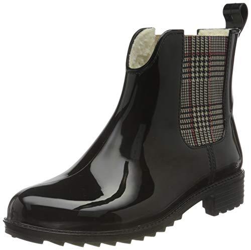 Rieker Damen Stiefeletten P8280, Frauen Chelsea Boots,Schlupfstiefel,Winterstiefeletten,weiblich,Lady,Ladies,Women's,Woman,schwarz (05),42 EU / 8 EU