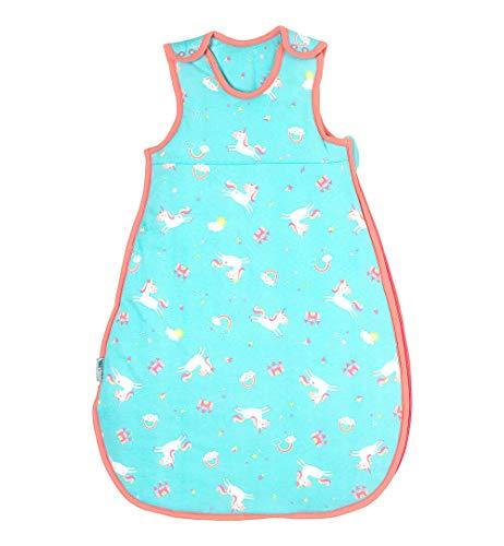 Schlummersack slaapzak voor de winter, in 3,5 tog, verkrijgbaar in verschillende maten en designs, voor jongens en meisjes 56 cm eenhoorn