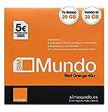 Orange Spain - Prepaid SIM Card 20 GB in...
