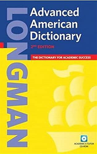 Longman Advanced American Dictionary, 2nd Edition (Book & CD-ROM)