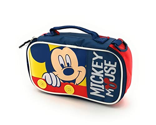 Kinder Brotzeittasche Isoliert Mickey Mouse