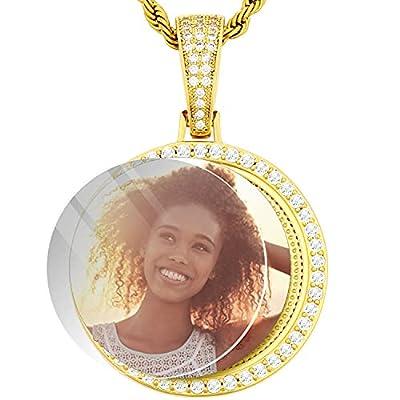 Amazon - Save 70%: Blank Photo Pendant Necklace DIY Round Pendant For Jewelry Mak…