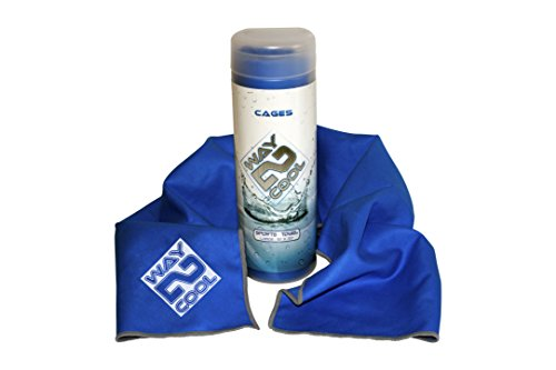 Toalla de enfriamiento de microfibra Way 2 Cool número 1 en ventas, 12, Azul