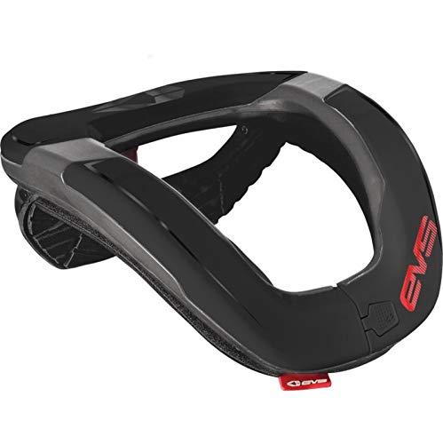 EVS Sports R4-BK-A Sports R4 Race Collar (Black, Adult)