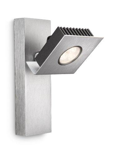 Philips Ledino Indoor LED-Wandleuchte, alu
