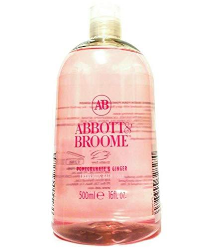 Abbott & Broome Pomegranate & Ginger Luxurious Bubble Bath Foam 500ml 16 fl.oz Bottle