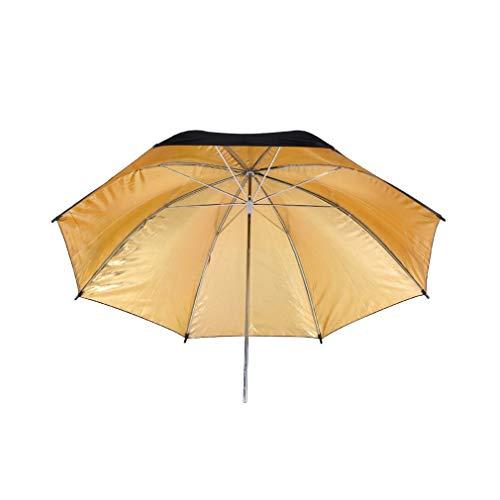 Yeliu Reflective Umbrella With Black And Golden Cover Photography Umbrella Reflector Black,Golden