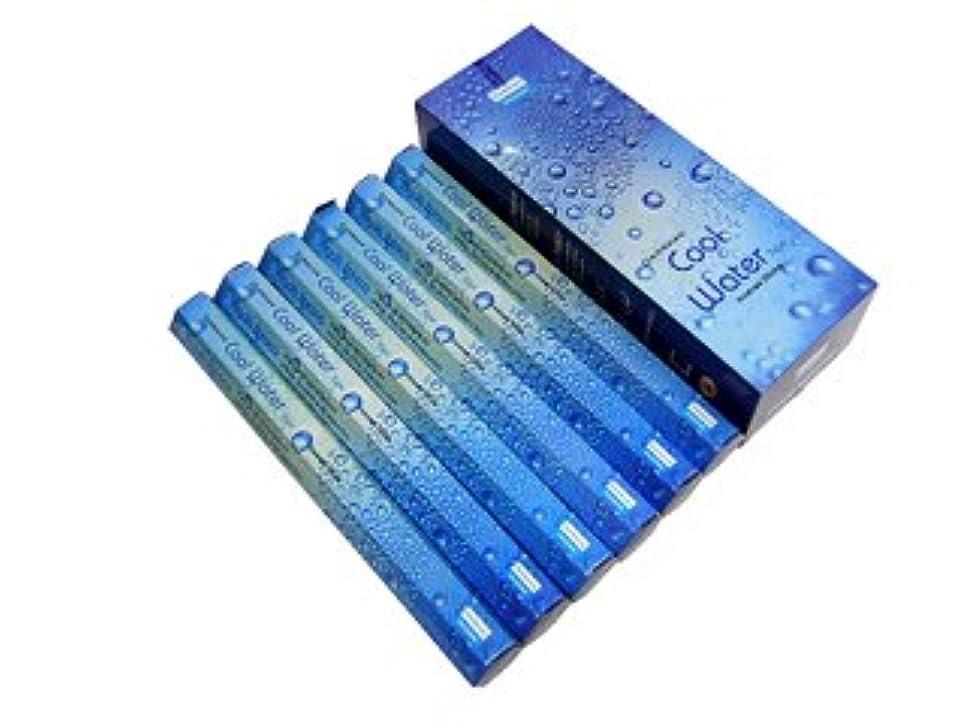 盆代表マッシュDARSHAN(ダルシャン) クールウォーター香 スティック COOL WATER 6箱セット
