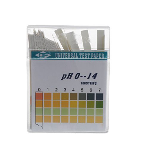 100 Strips PH Alkaline Acid Indicator Paper Water Saliva Litmus Testing Kit