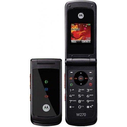 Handy Motorola W270 Black Ohne Simlock