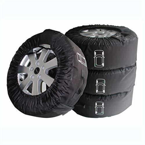 PROPLUS Reifenhüllen Reifentaschen PROFI Set 4 Stück Set 13