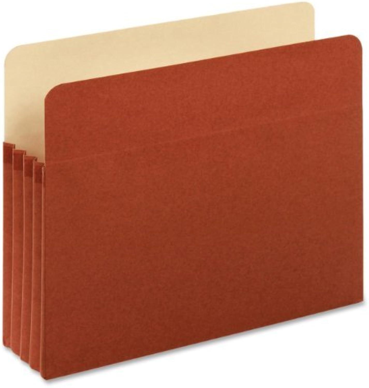Globe-Weis Standard File Pockets, 3.5-Inch Expansion, Letter Größe, braun, 5 Pockets Per Box (51524E5) by Globe Weis B0141NZ8U8 | Discount