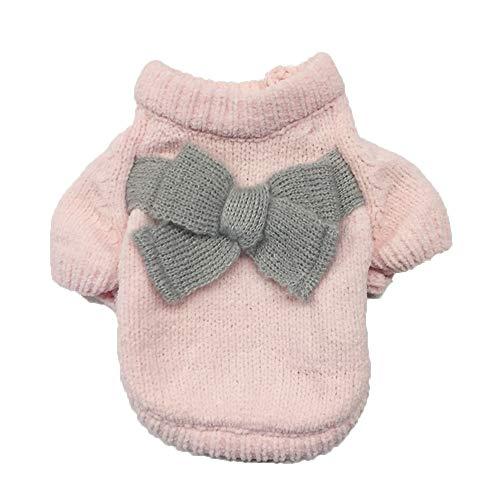 Timogee Hundemantel Kleiner Hund Kleidung Winter Hundepullover Modische Kleidung Soft Bequem Sweatshirt für Welpen Kleine und Mittlere Haustiere