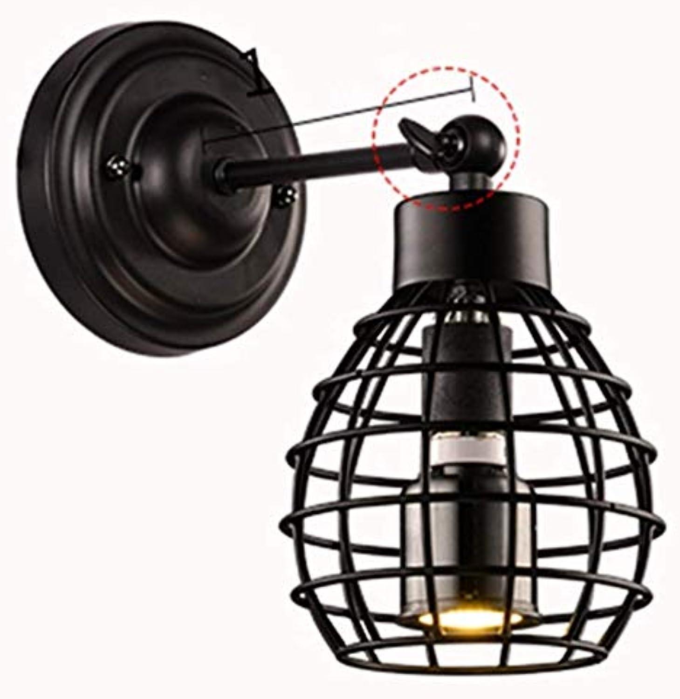 Wandleuchte E27 Loft Creative Staircase Schlafzimmer Nachttischlampe