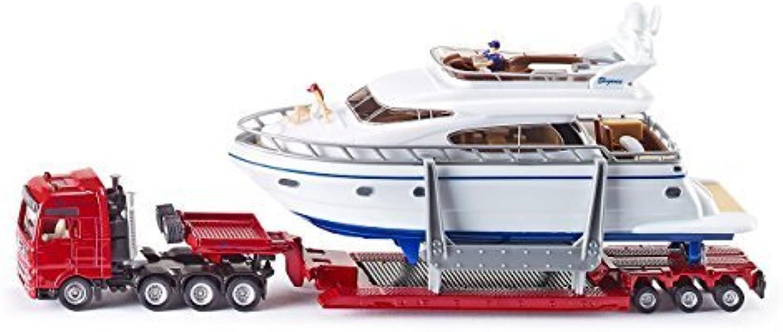 Siku 1 87 Low Loader Transporter W Yacht by Siku