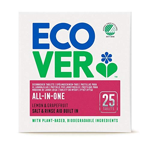 Ecover Lavavajillas Maq All-In-One Ecover 25Tab - 500 g