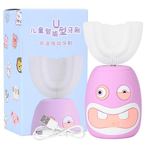Cepillo de dientes eléctrico ultrasónico, 2-14 años Cepillo de dientes eléctrico ultrasónico...