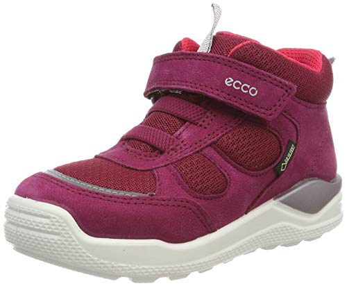 ECCO Mädchen Urban Mini Hohe Sneaker, Pink (Red Plum 1293), 28 EU