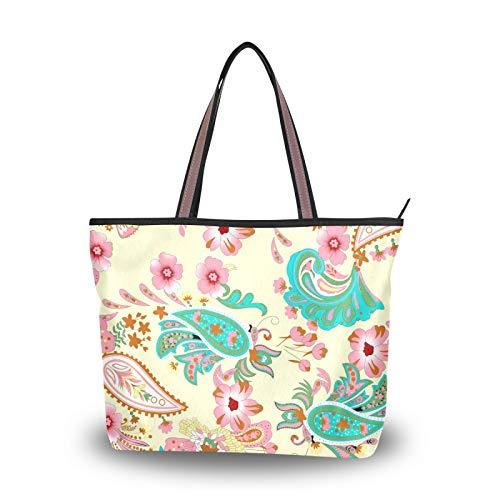 NaiiaN pour femmes filles dames étudiants sacs à main noix de cajou fleur Art abstrait printemps sacs à bandoulière sac à main Shopping léger sangle sac fourre-tout