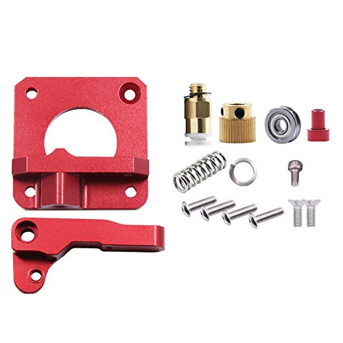 SainSmart Aluminum MK8 Extruder Drive Feeder, Flex Filament Printing, Filament Leakage Reduction, 3D Printer Upgrade, for Creality, Longer and Anycubic 3D Printers, Ender 3/5/CR, Anycubic Mega Series