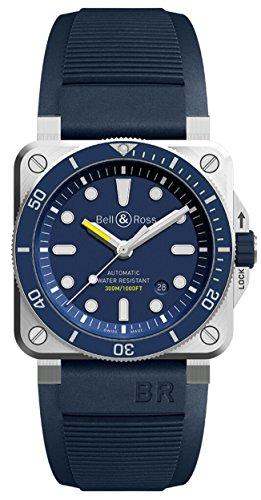 Bell & Ross Blue Diver BR03-92 Buzo Azul