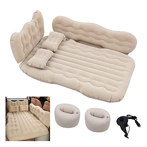 Conlia SUV Air Mattress Camping Bed Cushion Pillow-Thickened...