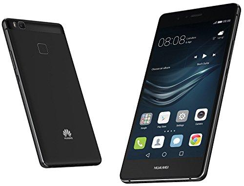 Huawei P9 Lite Smartphone Débloqué16 Go de stockage interne, 3Go de RAM, Android 6 noir (Reconditionné Certifié)