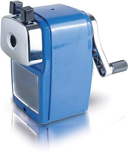 Helix - Temperamatite da scrivania, colore: Blu