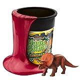 MAGIC SLIME DINOREX Lodo mágico para niños Arcilla en lata 150 g de oro con figura de dinosaurio 15483 , color/modelo surtido