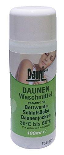 Dauni - Daunen Waschmittel für vollwaschbare Bettwaren mit Federn und Daunen, 100 ml
