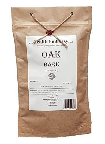 Health Embassy Eichenrinde Tee (Quercus Cortex) / Oak Bark Tea, 100g