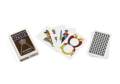 Dal Negro - Napoletane Italien, braun, regionale Spielkarten, Mehrfarbig, 010069