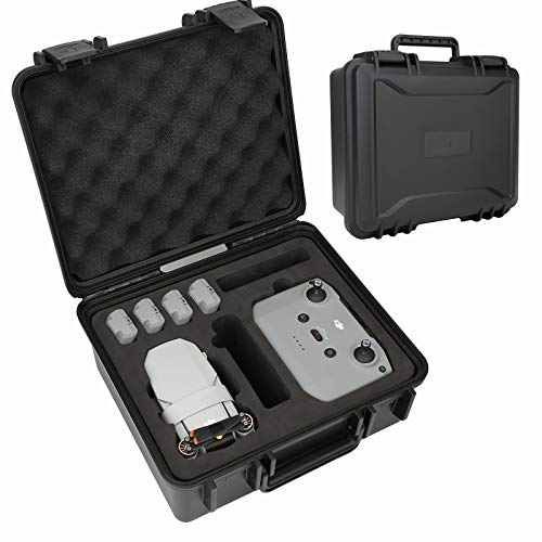 Mini 2 Professional Carrying Case-Waterproof Rugged Travel Case Compatible for DJI Mini 2 Fly More Combos and Accessories.