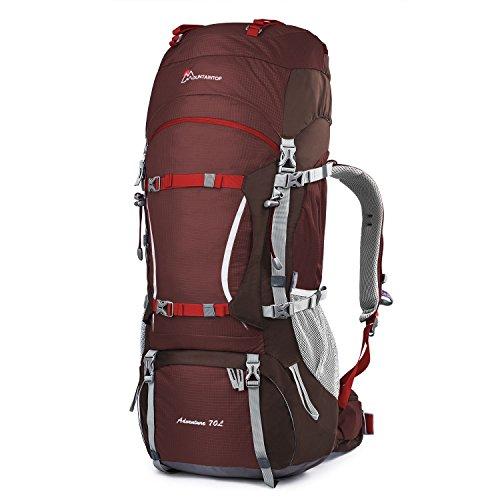 Mountaintop 70L/75L Internal Frame Hiking Backpack