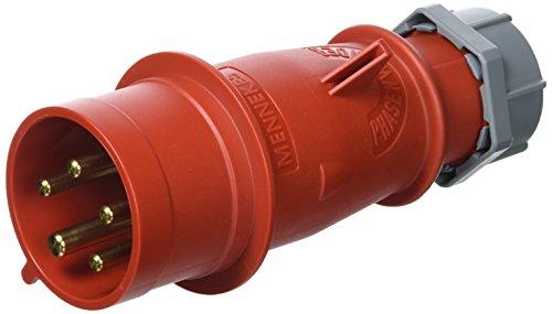 92/mm x 100/mm Cadre Mennekes 101100243/bases Semi /à encastrer CEE 400/V Rouge 5/broches 32/A IP 44 60/Hz prise de courant 10/Package 50