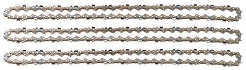 """3 tallox Sägeketten 3/8\"""" 1,3 mm 56 TG 40 cm Schwert kompatibel mit Oregon Dolmar Einhell Makita Black & Decker und andere"""