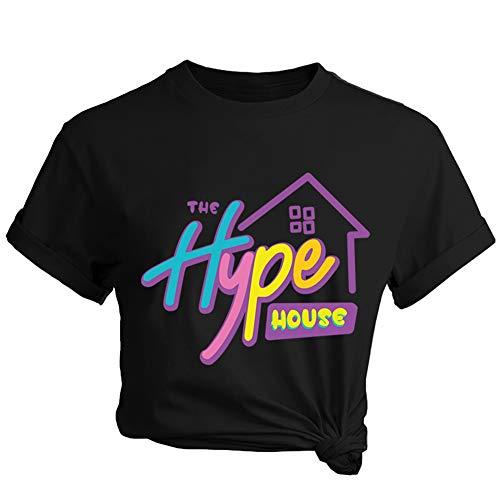 Lady Bug - Camiseta de manga corta para mujer, diseño de hipe House