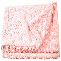 Pink dog blanket