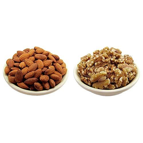 【セット買い】[Amazon限定ブランド]  NUTS TO MEET YOU アーモンド 1kg 植物油不使用 &  NUTS TO MEET YOU クルミ 1kg 植物油不使用