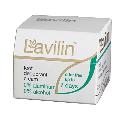 Crema deodorante naturale per piedi Lavilin Bio Balance da 10ml