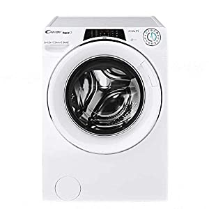 Candy RO16106DWHC7 Freestanding Rapido Washing Machine, WiFi connected, 10Kg Load, 1600rpm spin, White