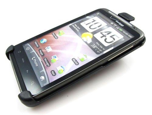 MyBat Holster with Belt Clip for HTC Thunderbolt ADR6400 - Retail Packaging - Black