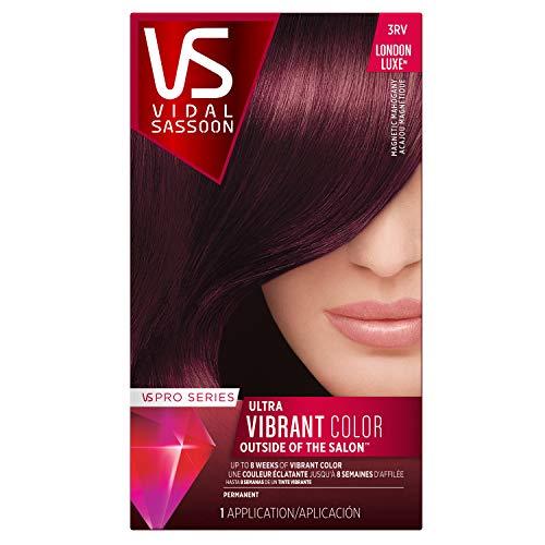 Vidal Sassoon Pro Series Ultra Vibrant Hair Color Kit, 3VR London Luxe/Deep Velvet Violet