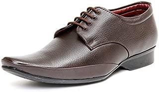 Bacca Bucci Men Brown PU Fromal Shoes