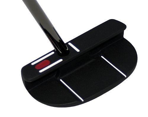 Seemore FGP Black Mallet Putter (Right Hand, 33-Inch)