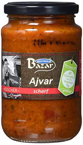 Bazar Ajvar scharf, 5er Pack (5 x 370 g)