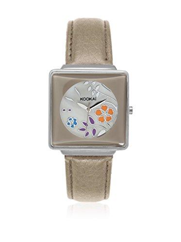 Kookai - Reloj de Cuarzo (34 mm), Color Gris