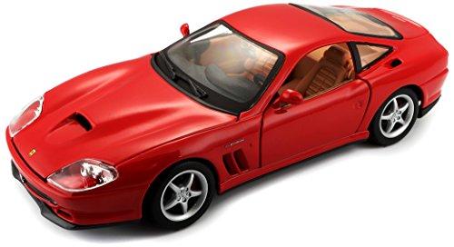 Bburago - 26004r - Véhicule Miniature - Modèle À L'échelle - Ferrari 550 Maranello - 1996 - Echelle 1/24