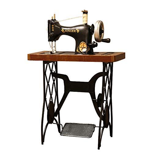 Cobeky Vintage Hierro Máquina De Coser Modelo Ropa Tienda Ventana Adornos Antiguos Objetos Decoración Artesanías